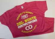 Haefeli's Honey - Colorado tee - pink