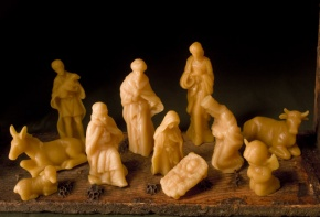Beeswax Nativity 1
