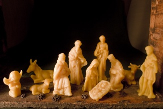 Beeswax Nativity 2